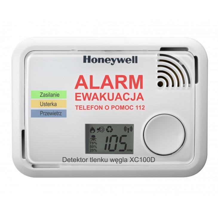 Detektor tlenku węgla Honeywell XC 100D